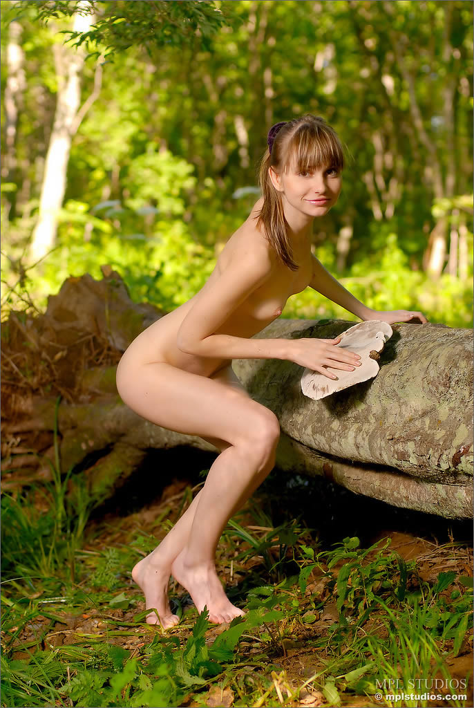 Forest wood nymph nude