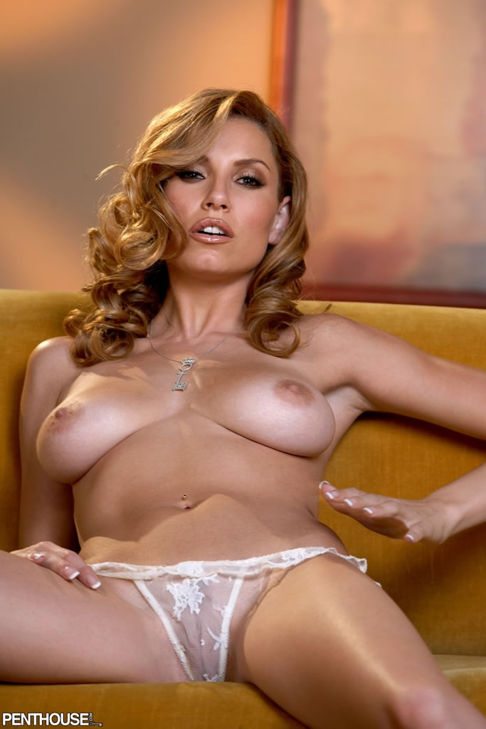 image Penthouse pet jelena jensen amp brunette aria love their tits