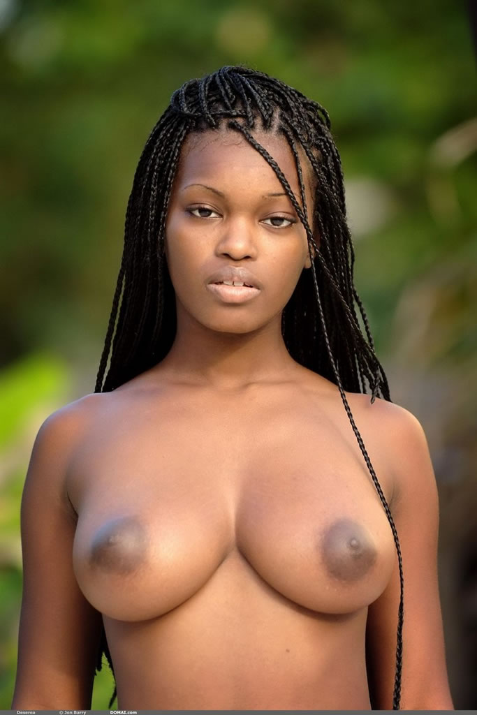 Naked black women natural breasts consider