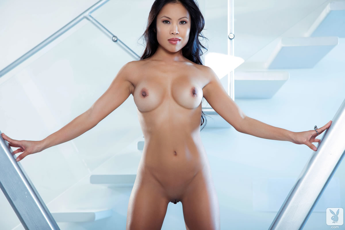 Naked female in ambulance